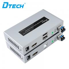 High Quality DTECH DT-7059 HDMI KVM Fiber Optic Extender 20KM