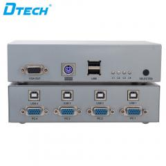 Sensitive DTECH DT-7017 KVM Switch 4X1