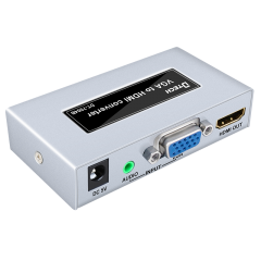 High-resolution DTECH DT-7004B VGA to HDMI HD Converter Instructions