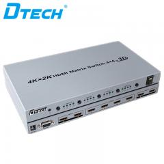 High-resolution DTECH DT-7444 4K*2K HDMI MATRIX SWITCH 4*4